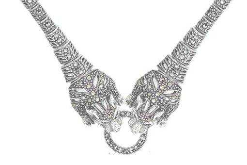 Marcasite necklace NE0531 1