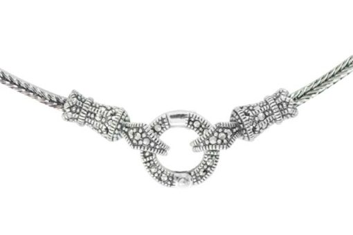 Marcasite necklace NE0559 1