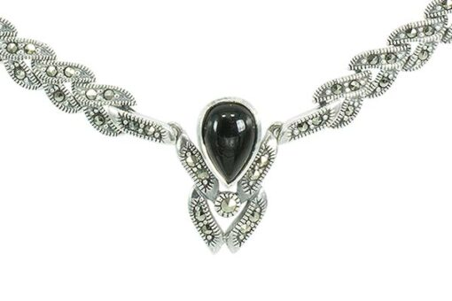 Marcasite necklace NE0575 1