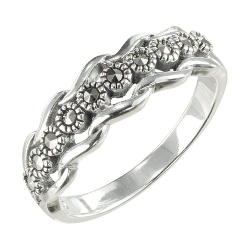 Marcasite jewelry ring HR1568 001