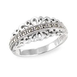 Marcasite jewelry ring HR1570 001