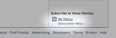 my status How to Display Facebook Statuses on WordPress Blog