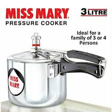 Hawkins Pressure Cooker Miss Mary 3LTR