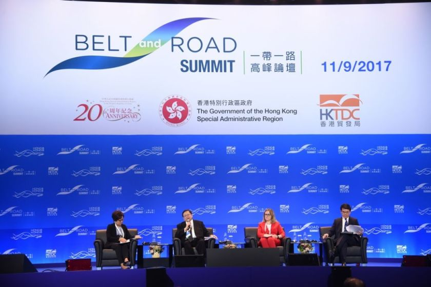 one belt one road initiate