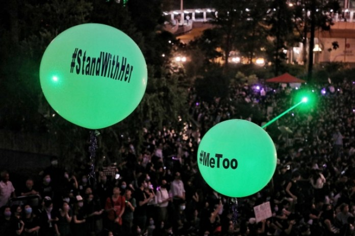 August 28 #ProtestToo rally sexual assault extradition law