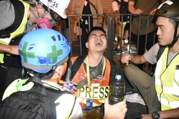 September 22 Prince Edward Mong Kok police station protest