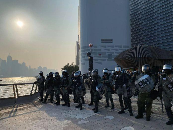 Riot Police Avenue of Stars