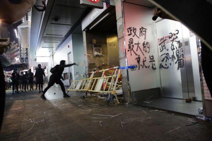 october 4 Causeway Bay MTR