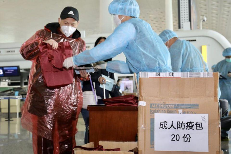 mask virus coronavirus airport
