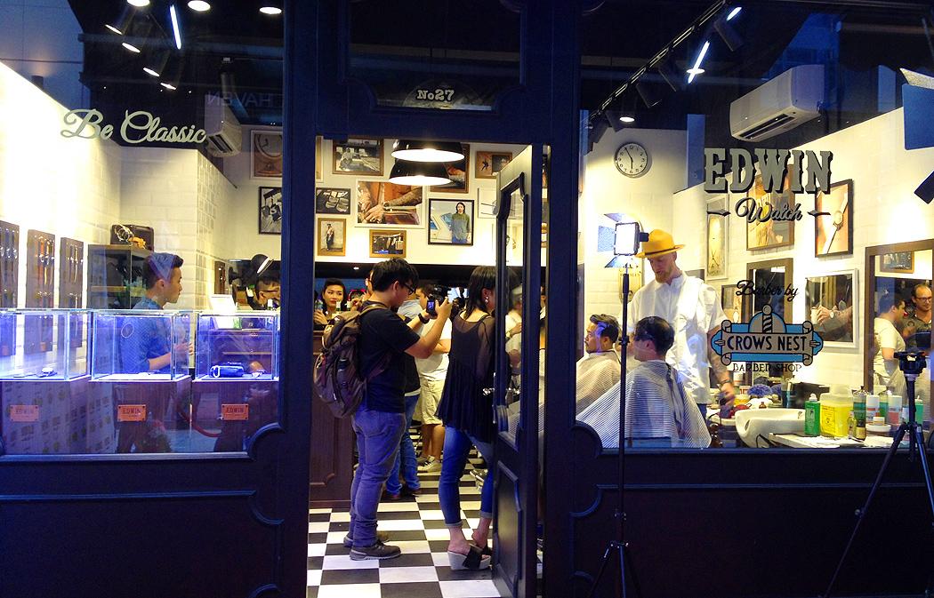Edwin Watch x Crows Nest Barber shop! | Hong Kong Hustle