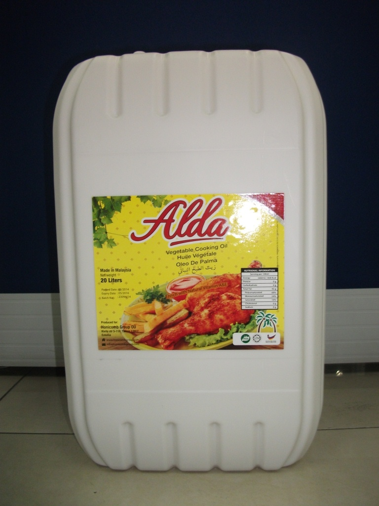 Alda oil 20Ltr Cooking Oil