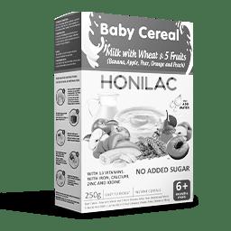 Honilac Baby Cereal Black & White Logo 256