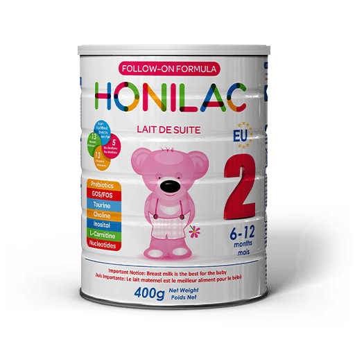 Honilac Infant Formula French and English Stage Two
