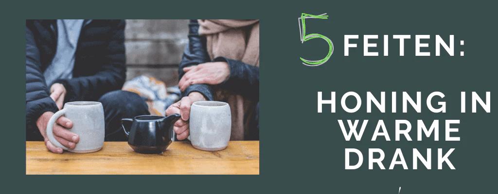 5 Feiten honing in warme drank