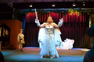 Sally as The White Witch in 'The Lion, The Witch and The Wardrobe'