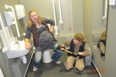 Little Becky and Hot Blades Harry Plunger