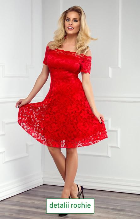 rochie cu maneci scurte