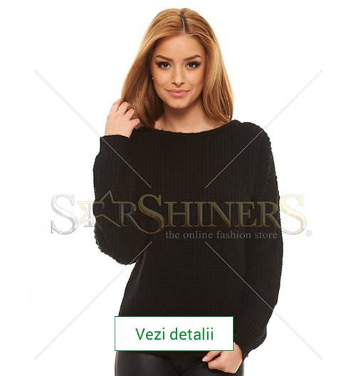 Pulover tricotat de dama, marca Mexton