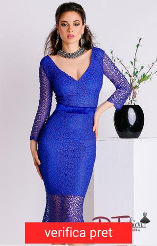 rochie mulata albastra