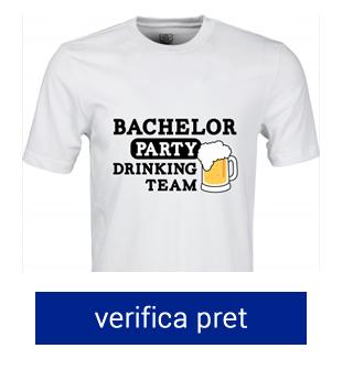 tricou pentru petrecerea burlacilor drinking team