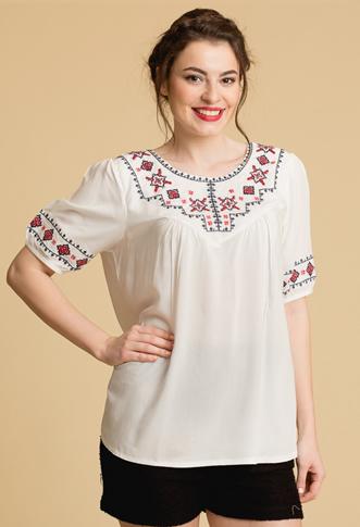 Bluza tip ie traditionala tip etno
