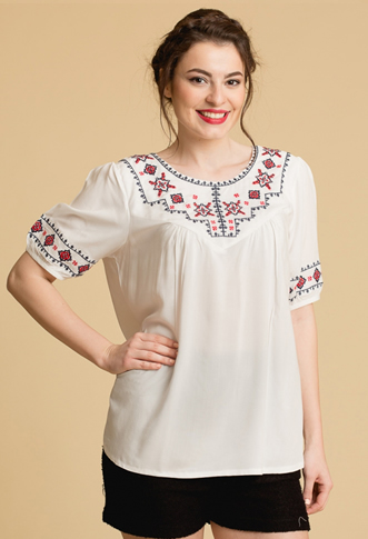 Bluza tip ie traditionala tip etno