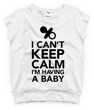 tricouri pentru gravide i can't keed calm