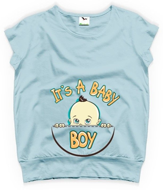 tricouri pentru gravide it's a baby boy