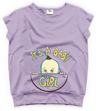 tricouri pentru gravide it's a baby girl