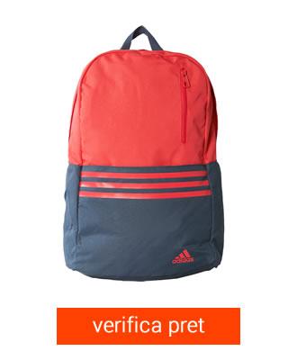 Ghiozdan Adidas Rosu cu Bleumarin