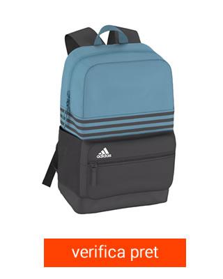 Ghiozdan Adidas Unisex Albastru cu Negru
