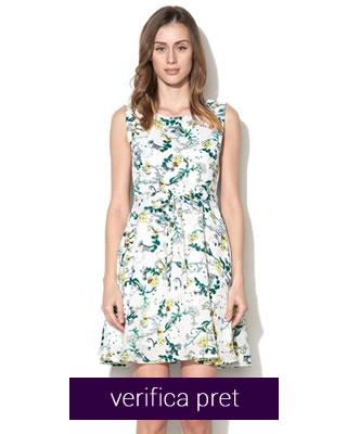 rochie de vara office cu flori