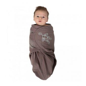 body-special-tip-wrap-bo-jungle-maimutica-pentru-bebelusi-marime-s-3-6kg-din-bumbac