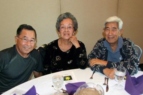 Ron Yamauchi abd Hilda and Bill Takamatsu are among the attendees.