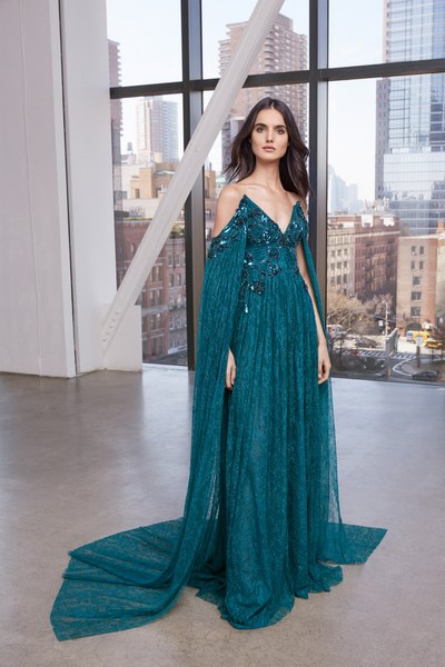 Discover Pamella Roland Pre-fall 2020 collection featuring Blanca Padilla.
