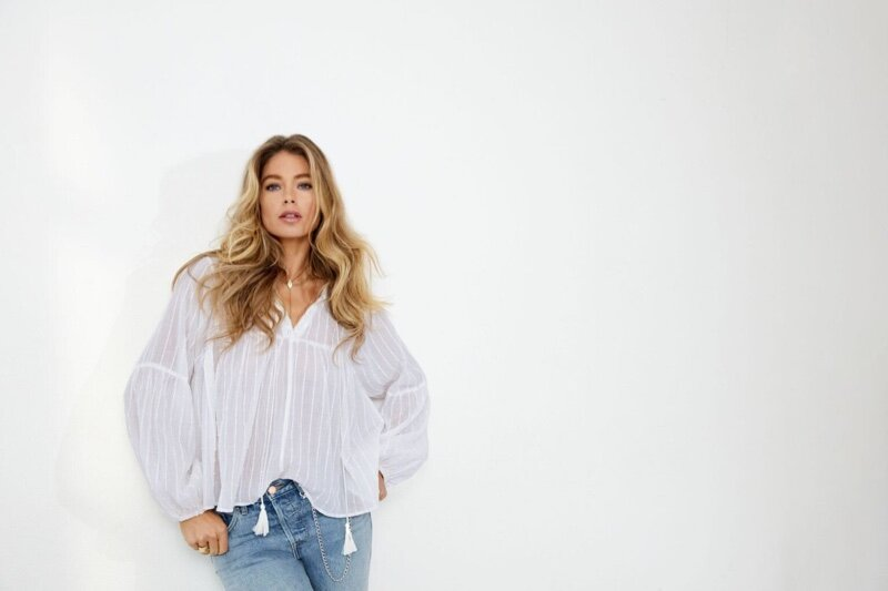 Doutzen Kroes for Only Denim Spring 2020 25th Anniversary Campaign.