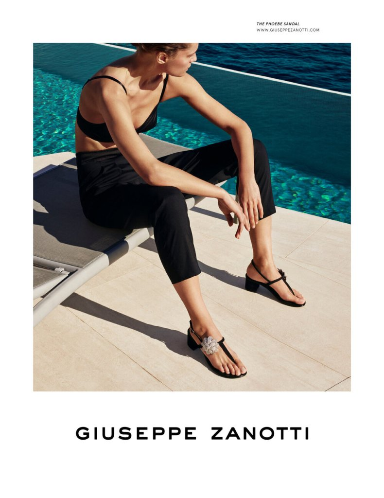 Giuseppe Zanotti launches 'Beauty is Strength' for it's Spring 2020 campaign.