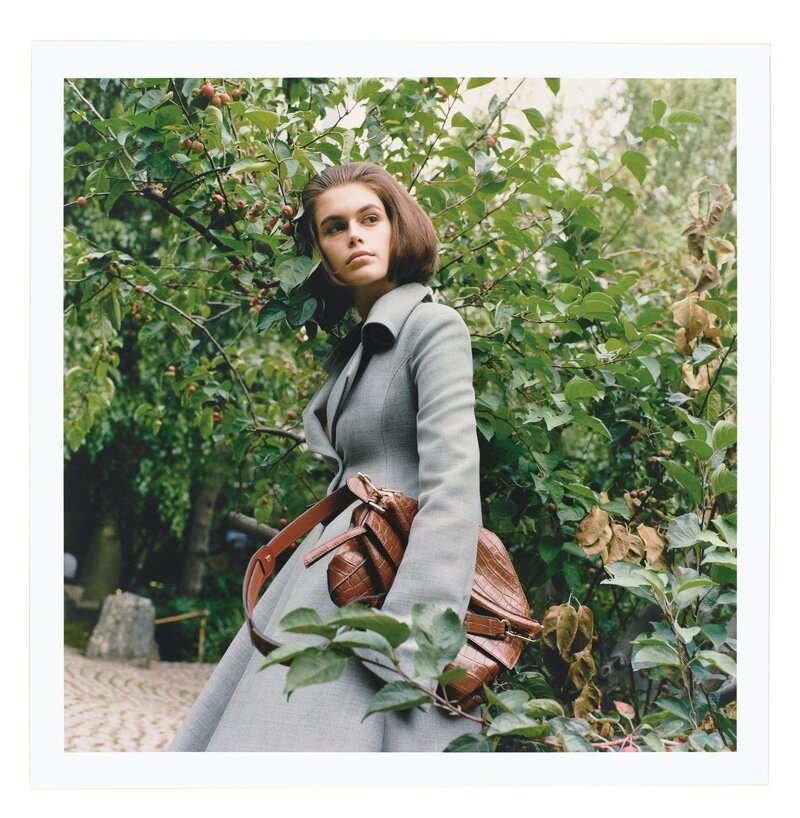 Kaia Gerber graces the spring summer 2020 issue of Loewe Publication. Photographed by Fumiko Imano.