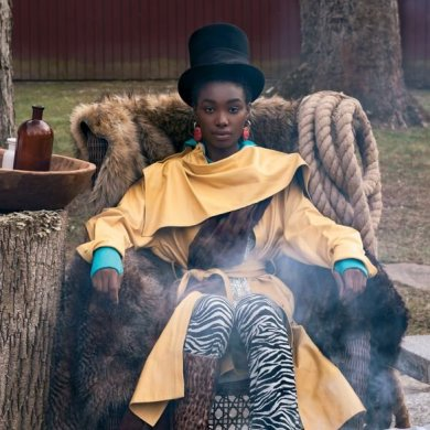 Bola Edun for Blanc Magazine. Photographed by Teneshia Carr and styled by Zu SB.