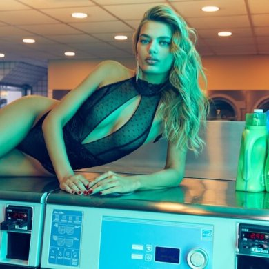 Bregje Heinen for Frederick's of Hollywood Spring 2020 campaign. Photographed by James Macari.