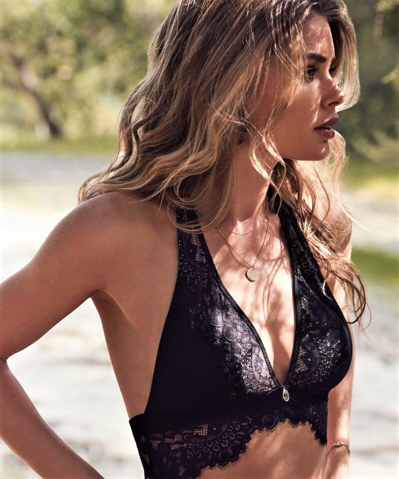Doutzen Kroes for Hunkemoller.
