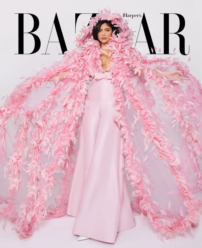 Kylie Jenner for Harper's Bazaar US March 2020 Issue. Photographed by Morelli Brothers.