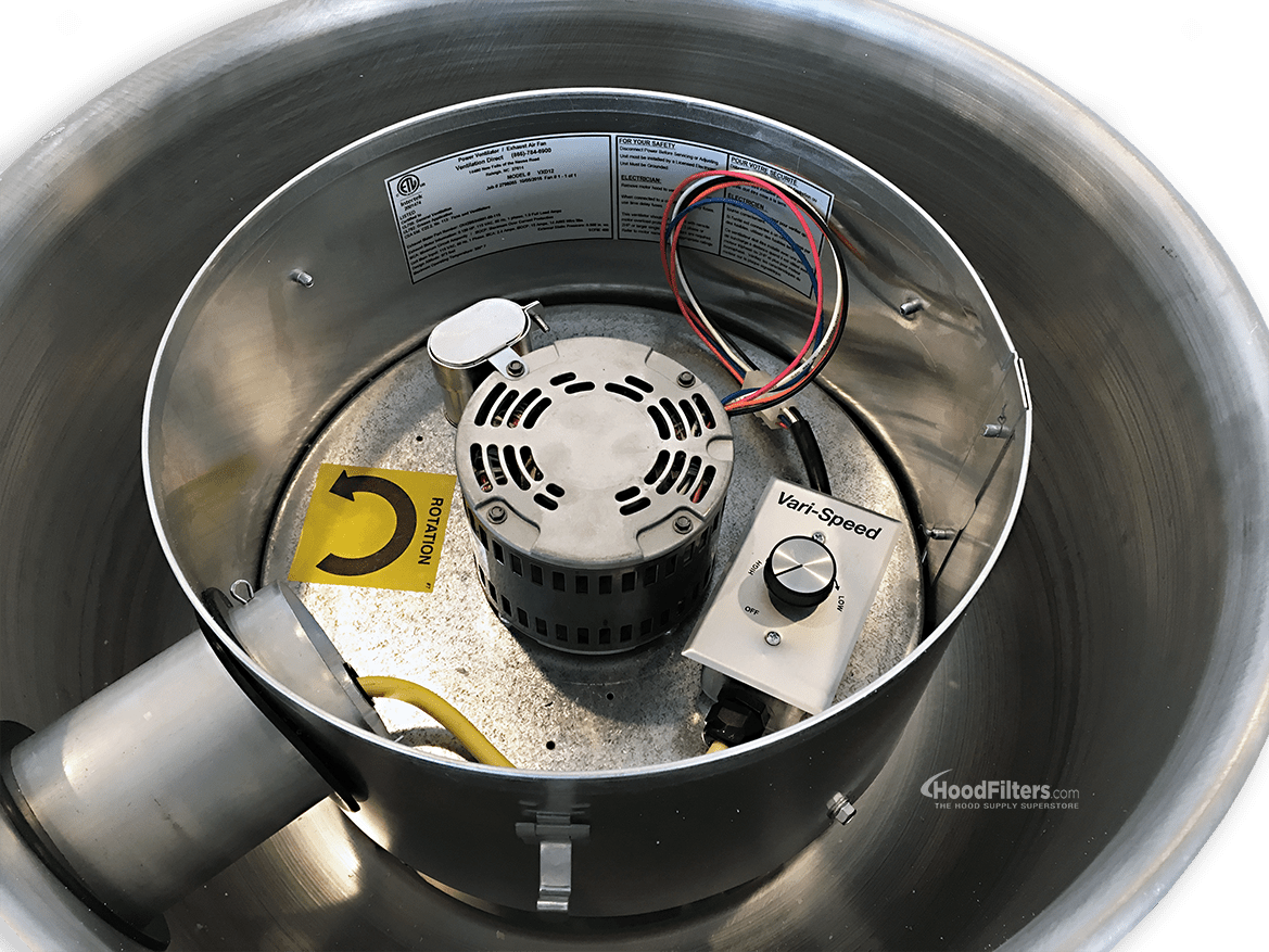 how food truck exhaust fans keep
