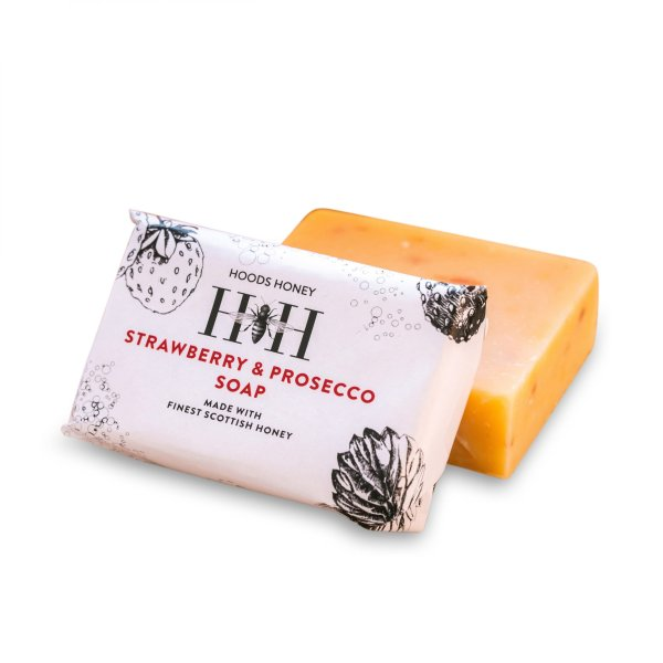 Strawberry & Prosecco Soap