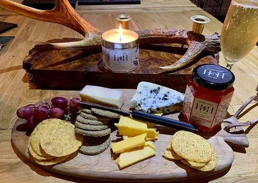 Cheeseboard with Hot Pepper Jelly