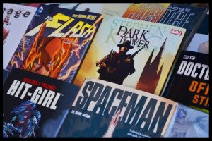 Our one solace right now is the colorful world of comic books