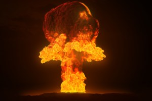 This mushroom cloud might represent the sate of the USA in a few months.