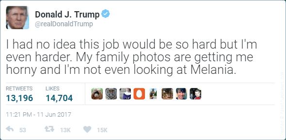 horny trump