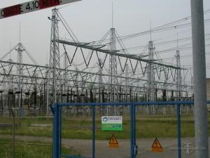 380 kV-gedeelte van Dodewaard