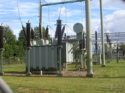 150/50 kV transformator op Dodewaard